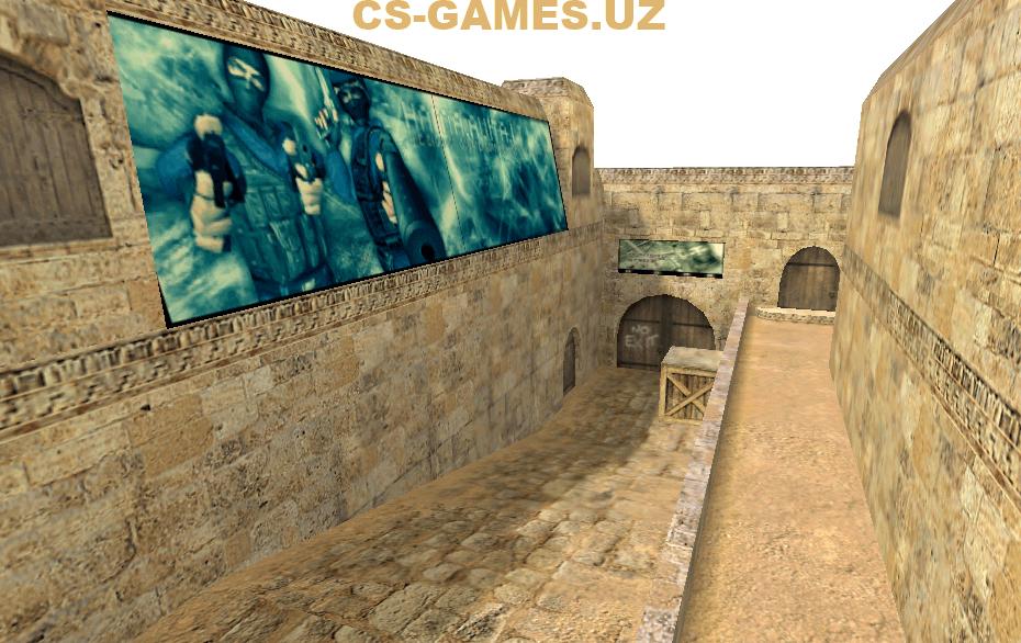 Карта de_dust2_2x2 для CS 1.6