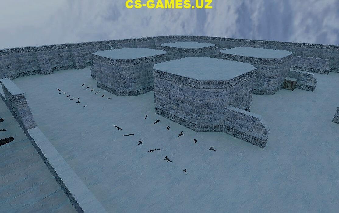 Карта fy_snow для CS 1.6