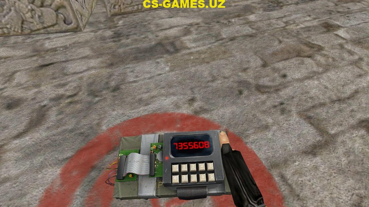 Модель c4_bomb из CS Source для CS 1.6