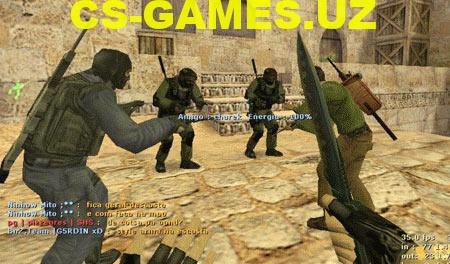 Плагин Back Weapons (оружия на спине) для CS 1.6