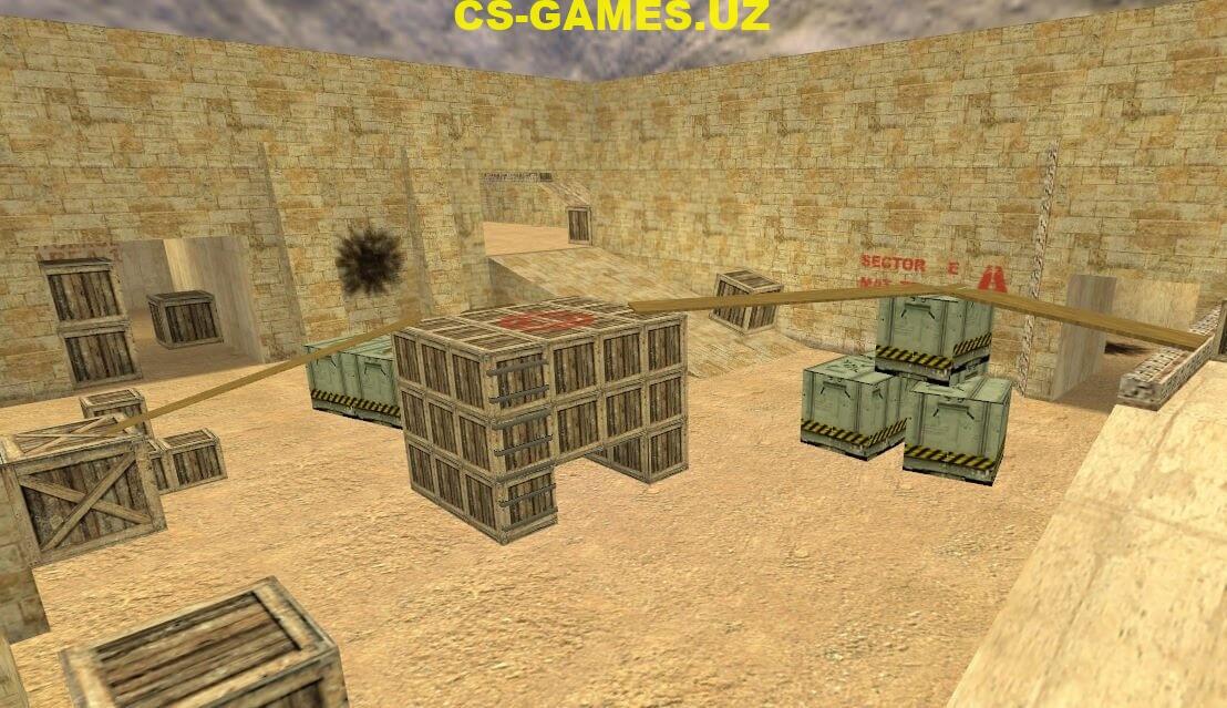 Скачать карту de_dust_arena для CS 1.6