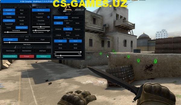 Чит A bit smarter для CS GO