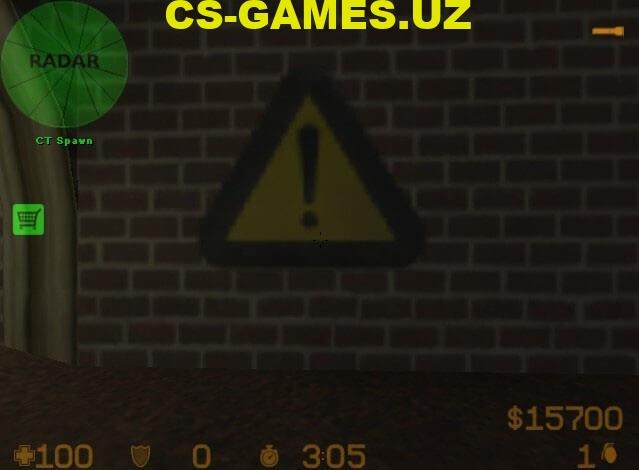 Лого Warning Sign для CS 1.6