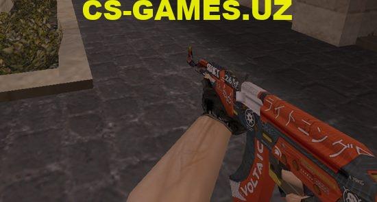 Модель AK47 Sport для CS 1.6