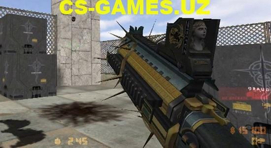 Модель He Grenade Rev для CS 1.6