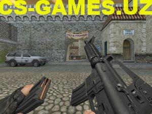Модель M4A1 New для CS 1.6