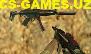 Модель MP5 Alien для CS 1.6