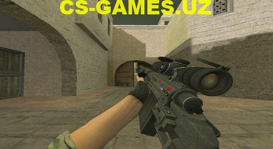 Модель Sniper Black для CS 1.6