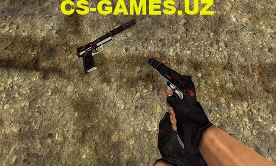 Модель USP GO для CS 1.6
