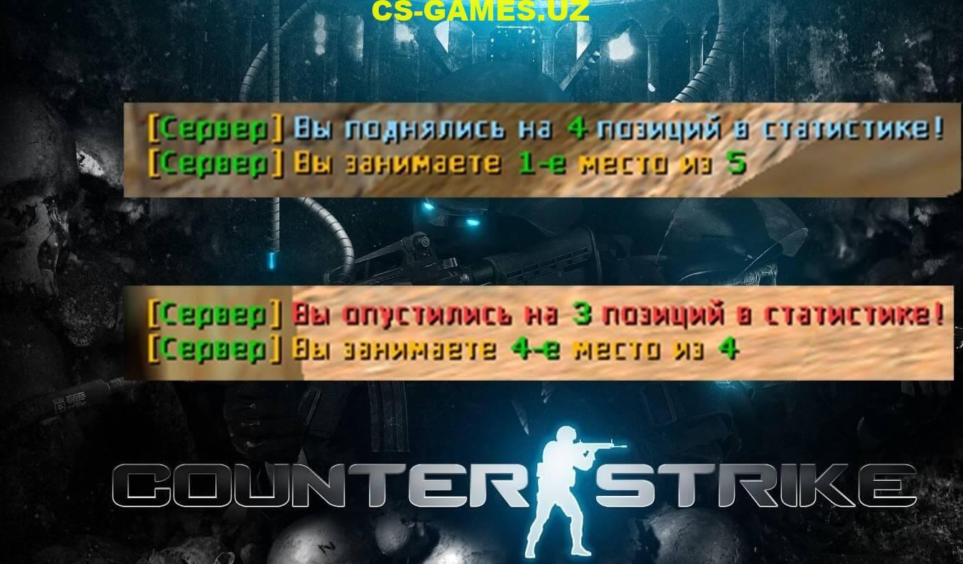 Плагин Info Rank для CS 1.6