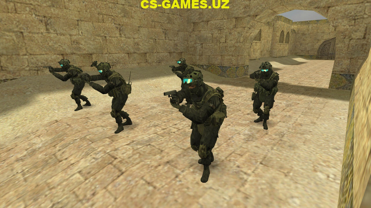 Скачать Counter-Strike 1.6 WarFace