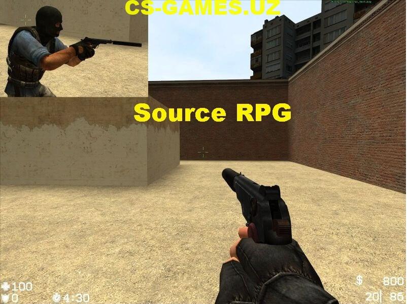 Плагин Source RPG для КС Соурс