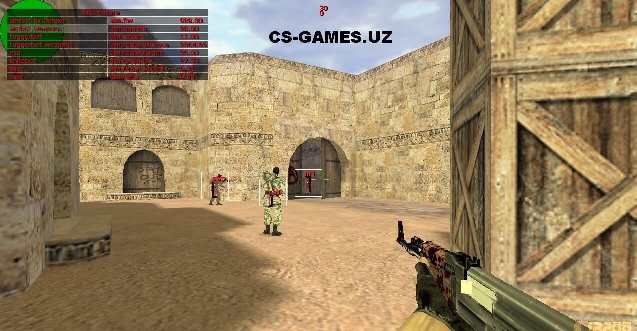 CS 1.6 с AIM и WH